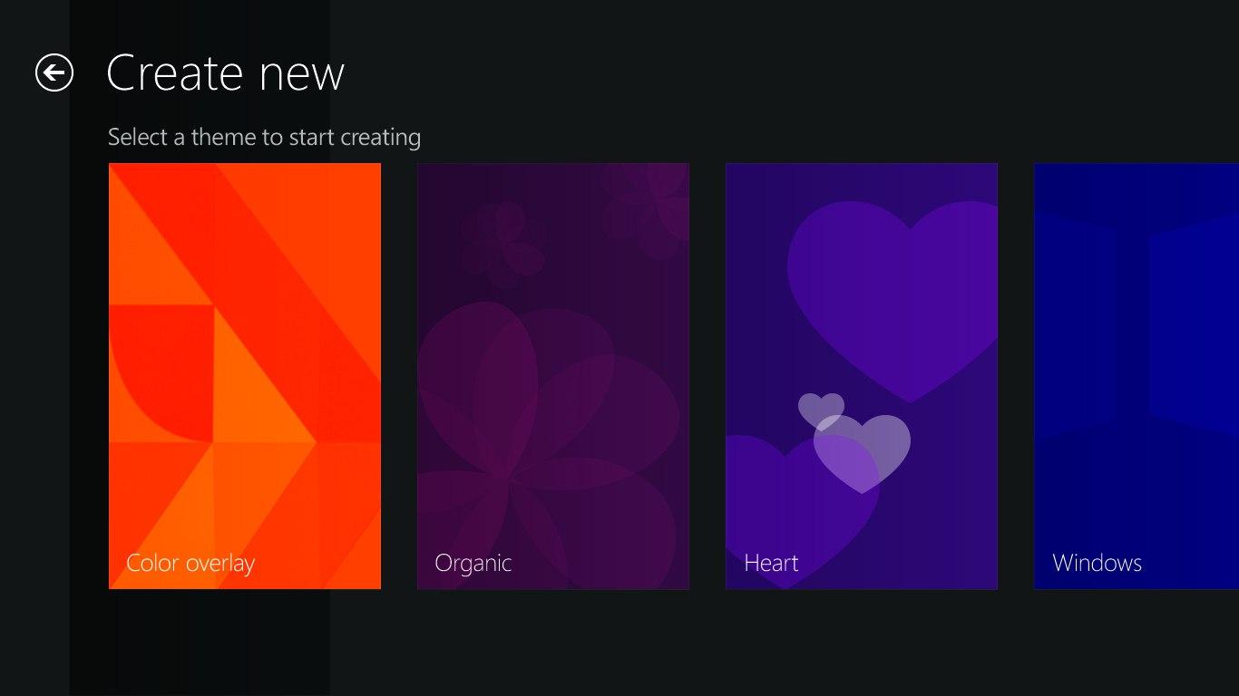 Windows 8 Start Screen Background Creator - Gilbert Han's Design